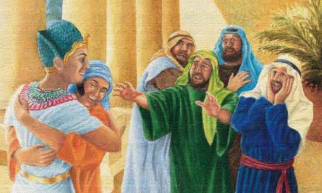 خواب یوسف به حقیقت میپیوندد